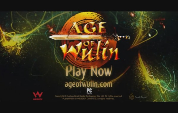 Comercial Game Age of Wulin