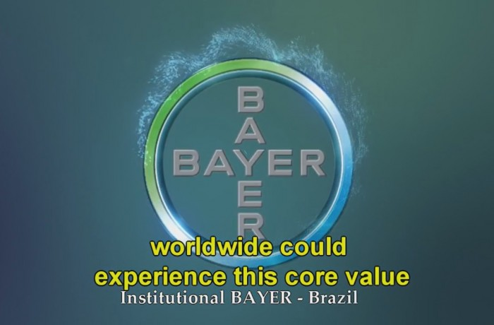 Comercial Bayer safet day.